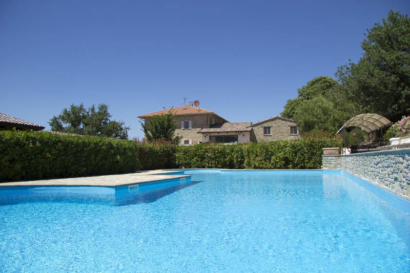 Holistic Agritourism Le Torracce - Umbria, Italy - Swimming pool